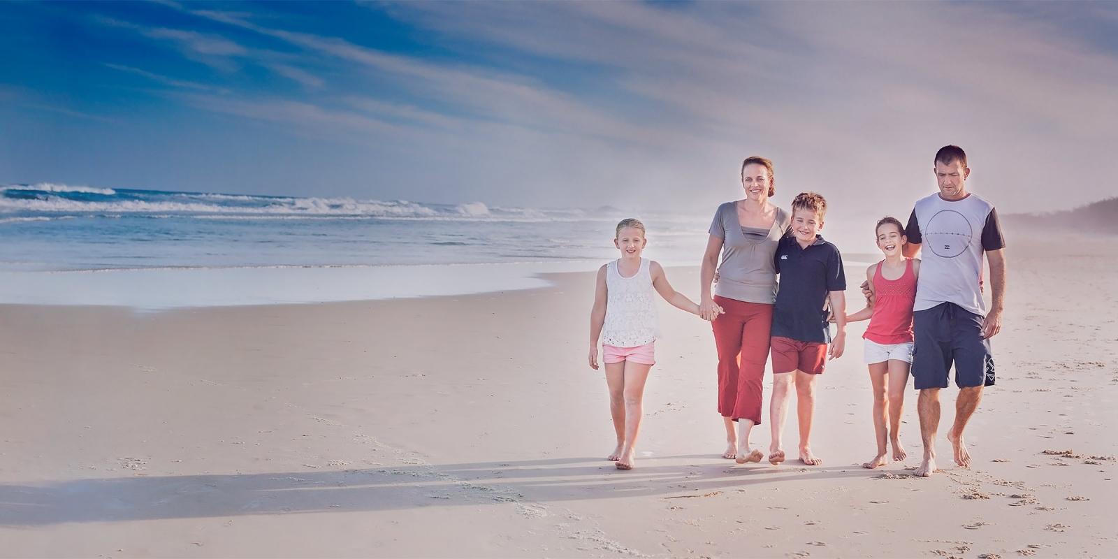 family photography beach